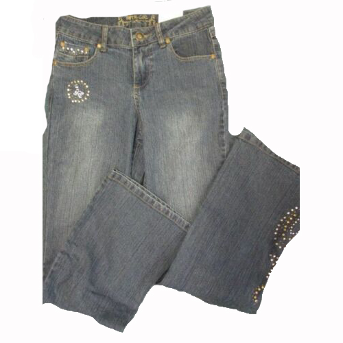 adc28a3e070fcf Total Girl Flare Jeans SIZE 12R BRAND NEW WITH TAGS!