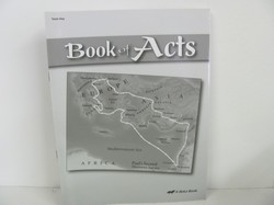 A Beka Book of Acts Used 8th Grade, Test Key