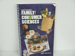 A Beka Family Consumer Used Home Ec