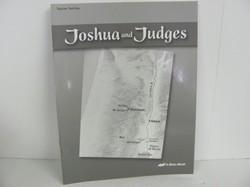 A Beka Joshua & Judges Used 8th Grade, Test Key