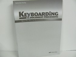 A Beka Keyboarding Used Elective, Quiz/test key