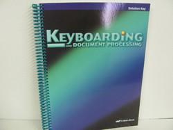 A Beka Keyboarding Used Elective, Solution Key