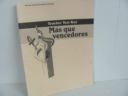 A Beka Mas que vencedores Used Spanish, Test Key