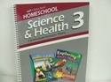 A Beka Science & Health Used 3rd Grade, Curriculum/Lesson Plans