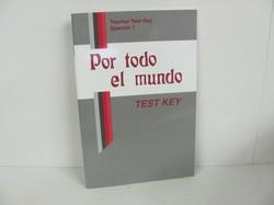 A Beka Spanish 1 Used Spanish, Test Key