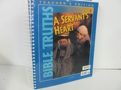 Bob Jones A Servant's Heart Used 2nd Grade