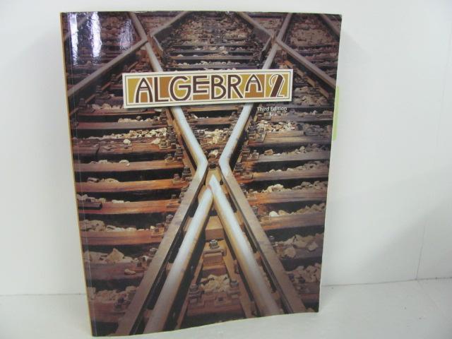 Bob Jones Algebra 2 Used High School, student book | Roland Inc