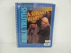 Bob Jones Bible Truths Used 2nd Grade, Teacher Edition