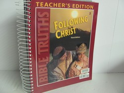 Bob Jones Bible Truths Used 3rd Grade, Teacher Edition