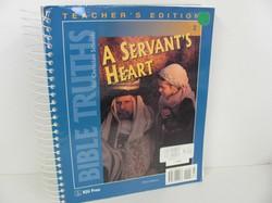 Bob Jones Bible Used 2nd Grade, Teacher Edition