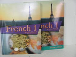 Bob Jones French 1 Used French, Activities book and Key