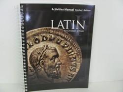 Bob Jones Latin Used Latin, Activities Manual Teacher