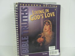 Bob Jones Living in God's Love Used Bible, TE