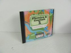 Bob Jones Phonics & English 1 Used CD Audio