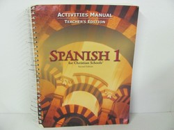 Bob Jones Spanish 1 Used Spanish, Activities Key