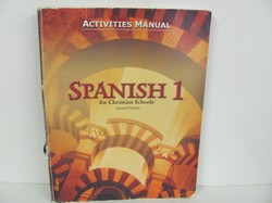 Bob Jones Spanish 1 Used Spanish, Activities Manual