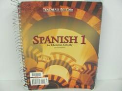 Bob Jones Spanish 1 Used Spanish, Teacher Edition