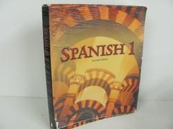 Bob Jones Spanish 1 Used Spanish, student book
