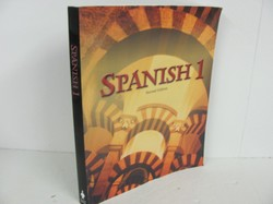 Bob Jones Spanish 1 Used Spanish, student book