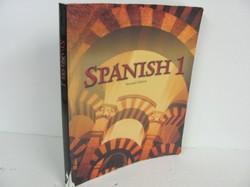 Bob Jones Spanish 1 Used Spanish, student