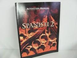 Bob Jones Spanish 2 Used Spanish, Activities Manual