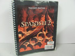 Bob Jones Spanish 2 Used Spanish, Teacher Edition