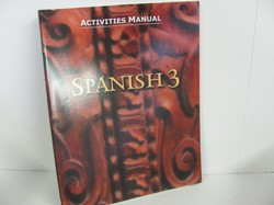 Bob Jones Spanish 3 Used Spanish, Student Activities Manual