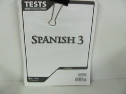 Bob Jones Spanish 3 Used Spanish, Tests