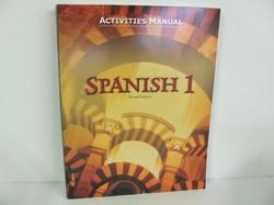 Bob Jones Spanish Used Spanish, Student Activities Manual