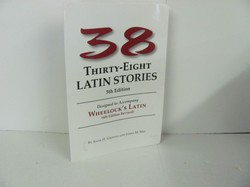 Bolchazy-Carducci -Thirty-Eight Latin Stories-Used Latin