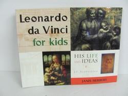 Chicago Review Leonardo Da Vinci for Kids -Art