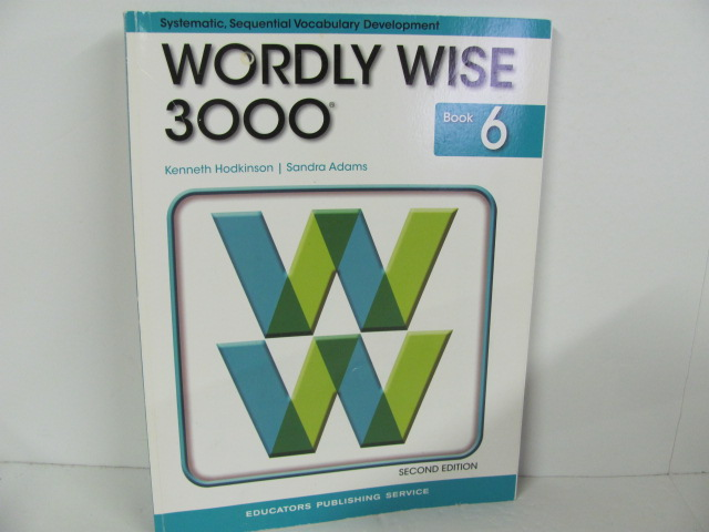 Eps Wordly Wise 3000 Book 6 Used 6th Grade Roland Inc