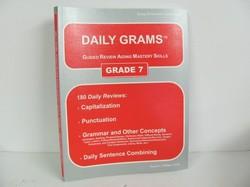 Easy Grammar- Daily Grams, Grade 7 Used 7th Grade