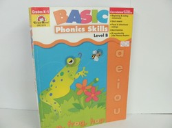 Evan-Moor-Basic Phonics Skills for Grades K-1, Level B-Used Early Learning