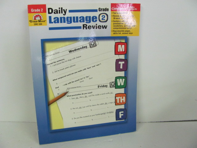 Evan-Moor-Daily Language Review, Grade 2-Used 2nd Grade | Roland Inc