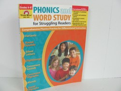 Evan-Moor Phonics and Word Study Used Early Learning