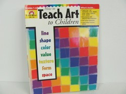 Evan-Moor Teach Art To Children Art