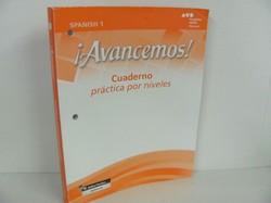 HMH Books-Avancemos: Cuaderno, Practica por niveles- Used Spanish