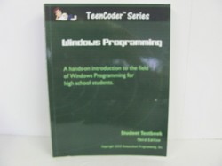 Homeschool Programming-TEENCODER Windows Programming - Used