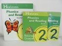 Horizons Phonics & Reading 2 (Set) Teacher, 2 Readers