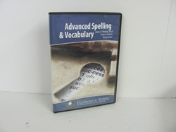 IEW- Advanced Spelling & Vocabulary Used CD ROM
