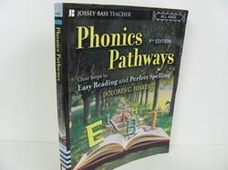 Jossey - Bass Pub-Phonics Pathways- Used Early Learning