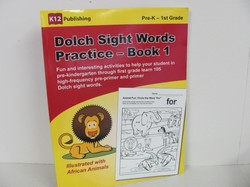 K12 Dolch Sight Words Used Early Learning