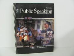 Kendal -Public Speaking Student Handbook- Used Elective