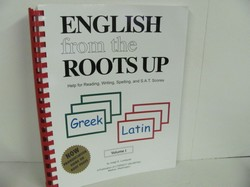 Literacy Unl English From the Roots Up Vol 1 Used Latin