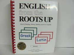Literacy Unl English from the Roots Up Used Latin