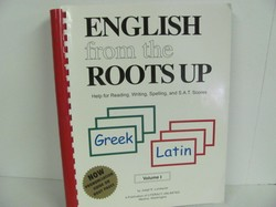 Literacy Unlimited-English from the Roots Up, Vol. 1- Used Latin