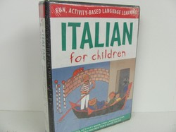 McGraw-Italian for Children (Book & CD) - Used Italian