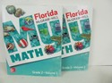 McGraw Math Used 2nd Grade, student books Vols 1 and 2