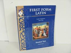 Memoria Press First Form Latin Used Latin